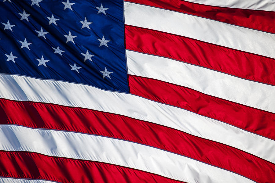 4th Of July Photograph - American Flag by Leslie Banks