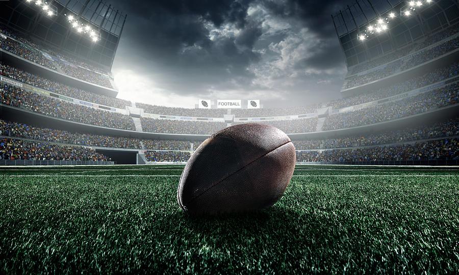 American Football Ball Photograph by Dmytro Aksonov