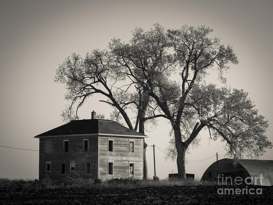 American Four Square Farm House by Rural America Scenics