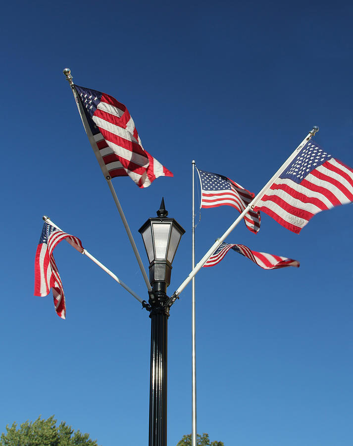America Photograph - American Glory by James Hammen