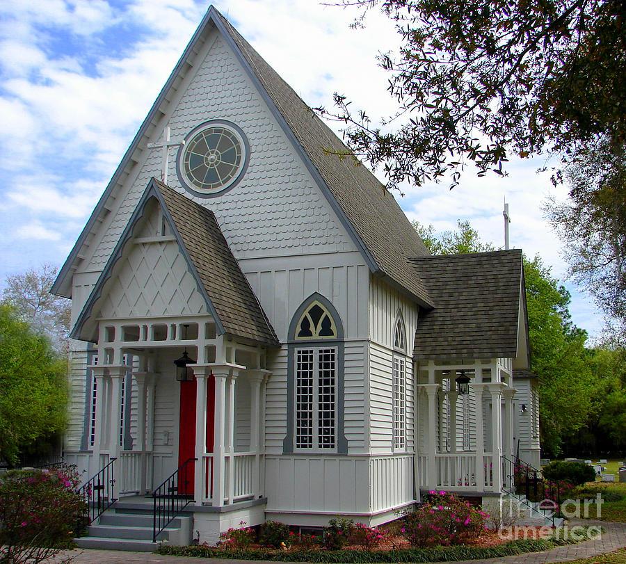 American Gothic Church Photograph By Lew Davis