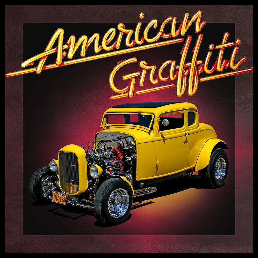 American Graffiti Photograph by Christopher McKenzie