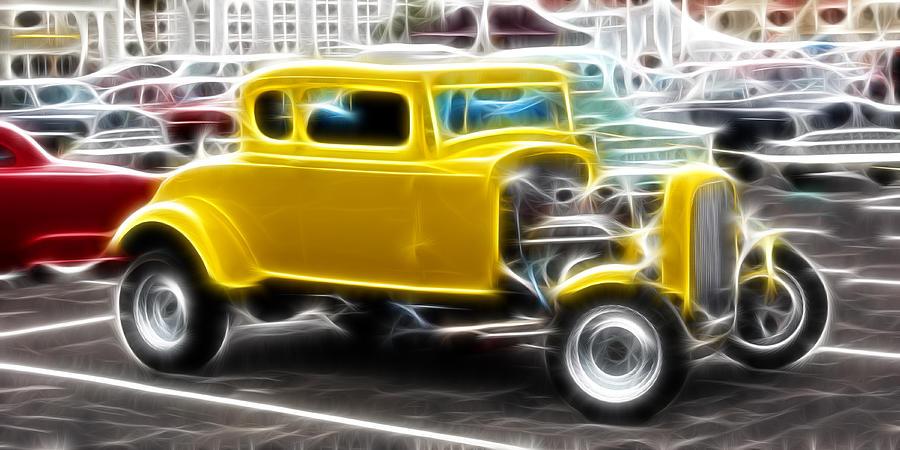 Hotrod Photograph - American Grafitti Coupe by Steve McKinzie