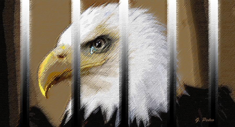 American Heroes Unjustly Behind Bars Pastel