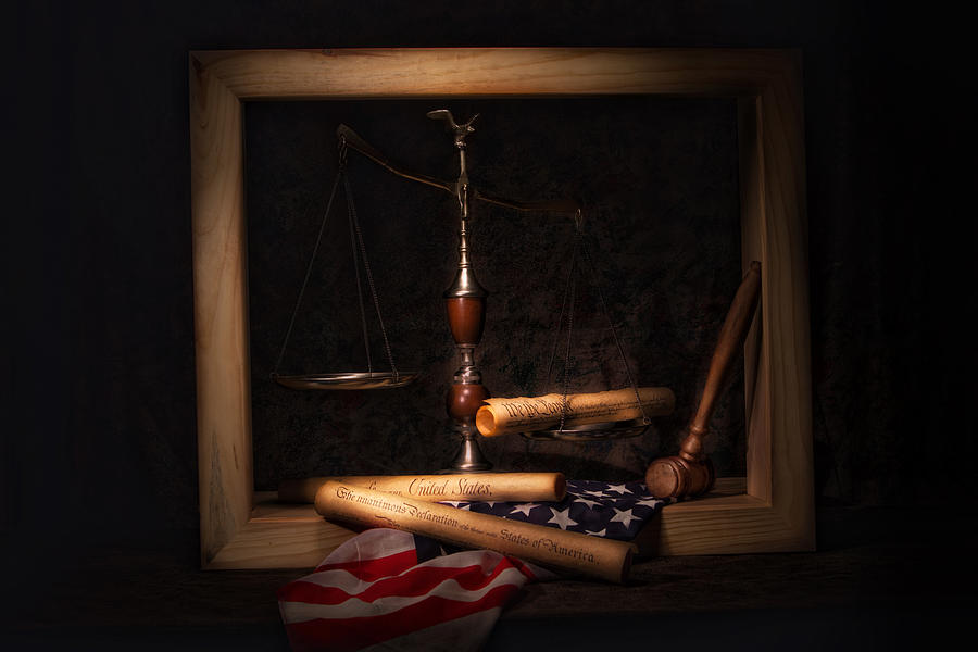 America Photograph - American Ideals Still Life by Tom Mc Nemar