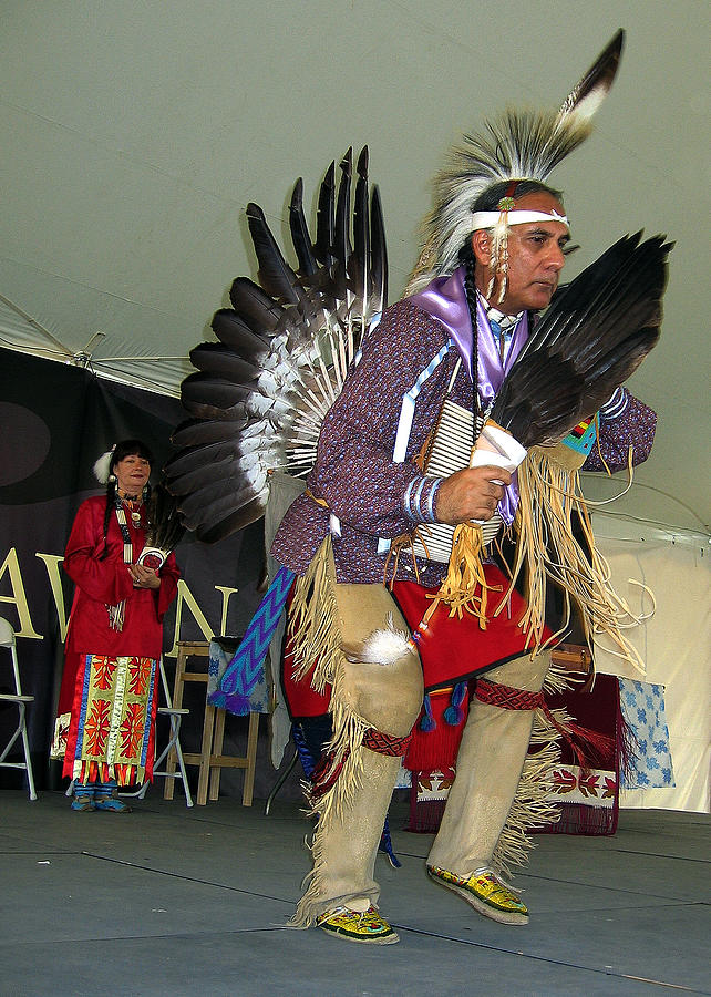 American Indian Photograph - American Indian Dance by Bill Marder
