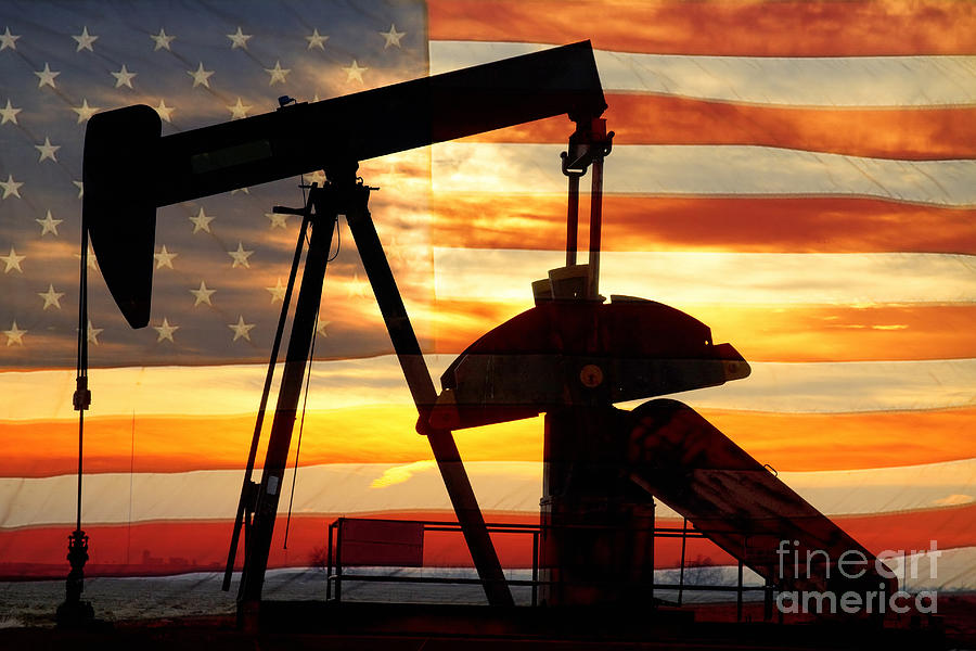 Oil Photograph - American Oil  by James BO  Insogna