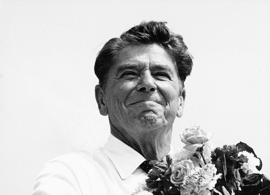 Reagan Photograph - American Optimism by Steven Huszar