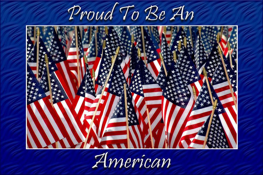 American Photograph - American Pride by Carolyn Marshall