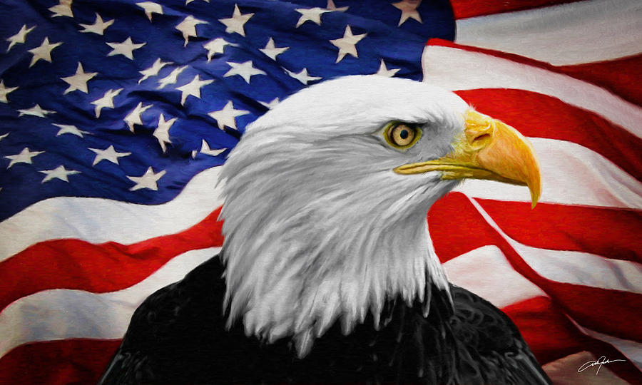 American Symbols Digital Art By Dale Jackson