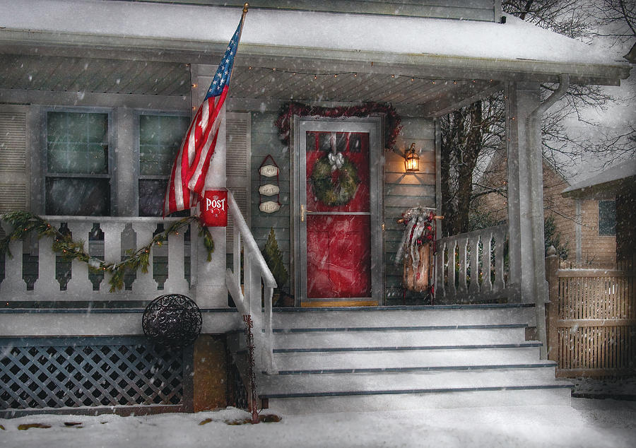 Savad Photograph - Americana - A Tribute To Rockwell - Westfield Nj by Mike Savad
