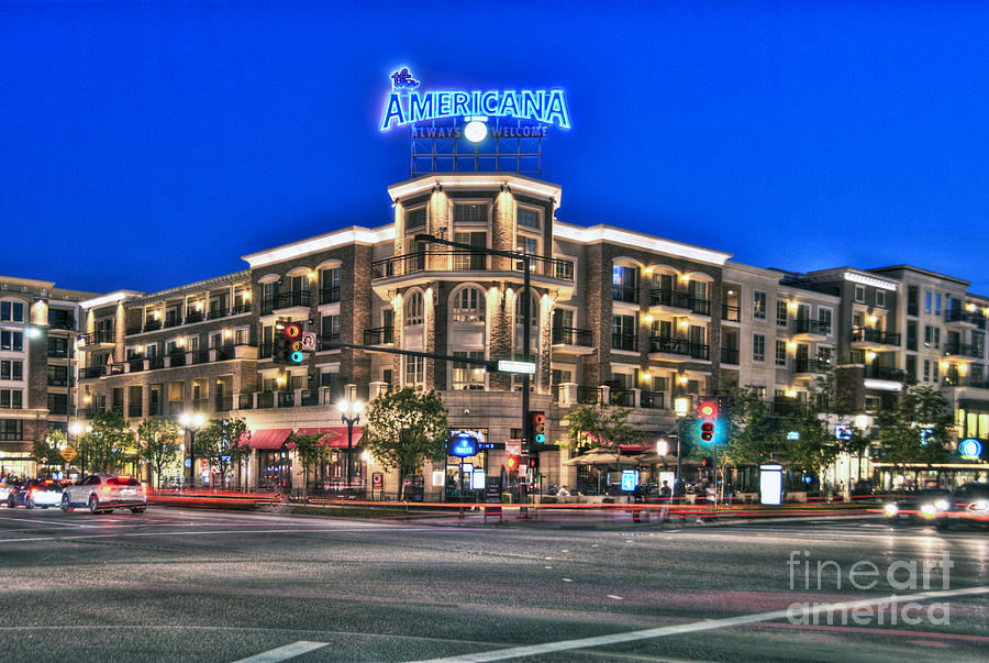 Americana Brand Shopping Glendale Ca Photograph By David
