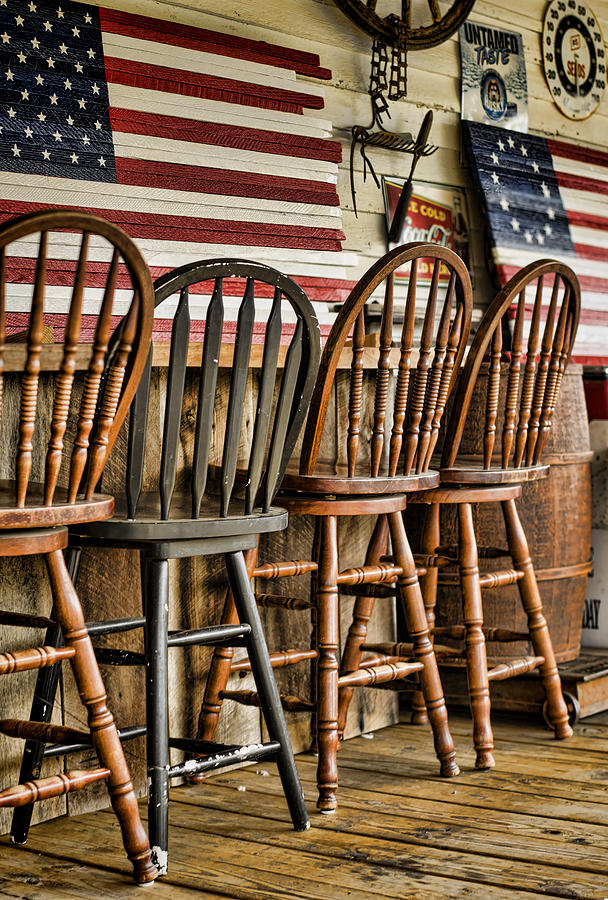 American Flag Photograph - Americana by Heather Applegate