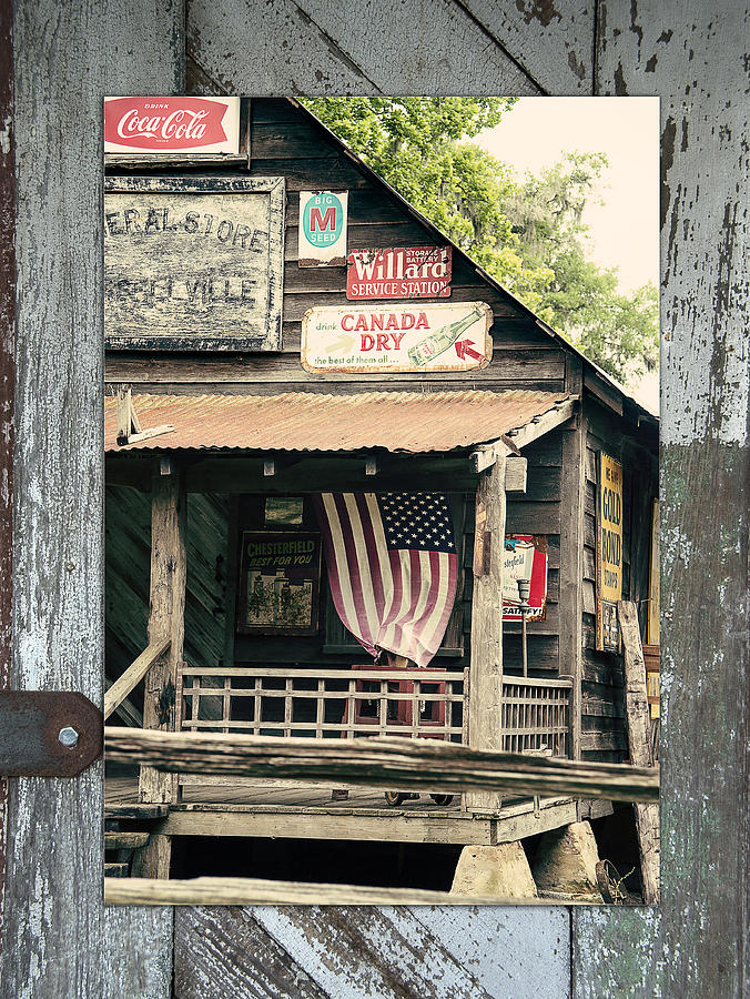 Country Photograph - Americana by Linda Olsen