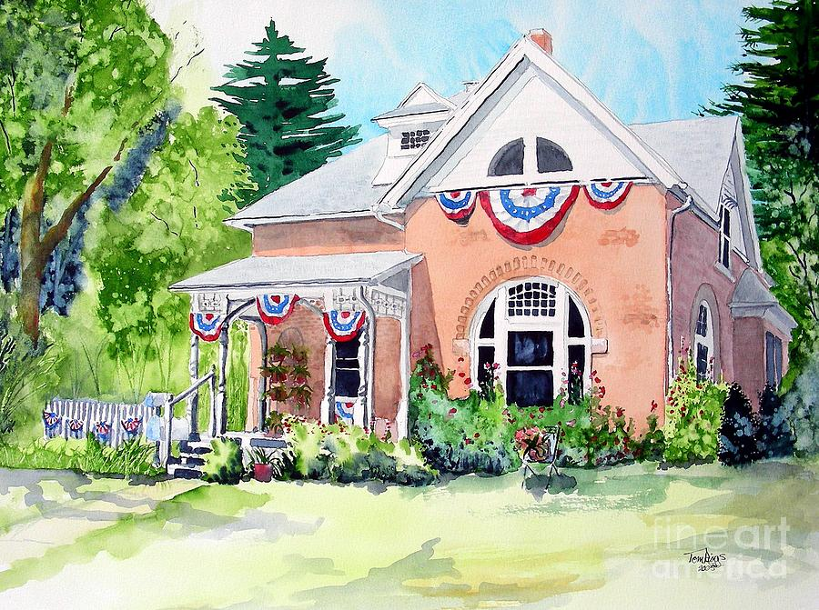 Americana Painting - Americana by Tom Riggs