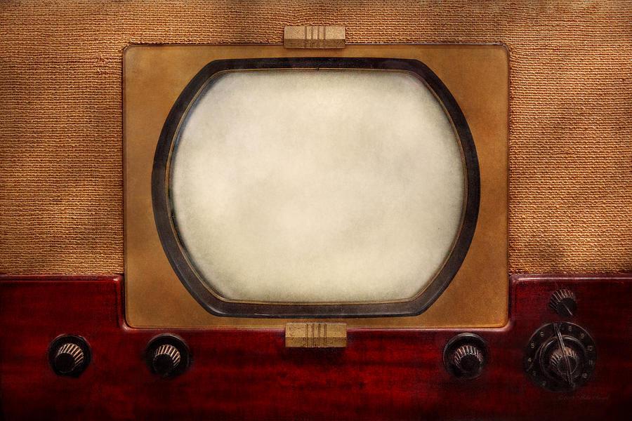Savad Photograph - Americana - Tv - The Boob Tube by Mike Savad