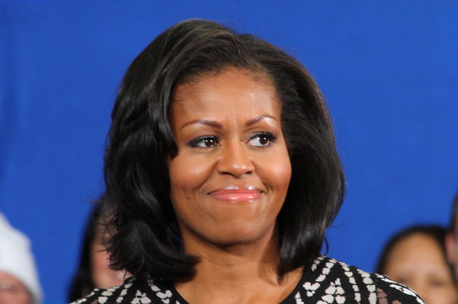 Michelle Photograph - Americas First Lady by Mike Stouffer