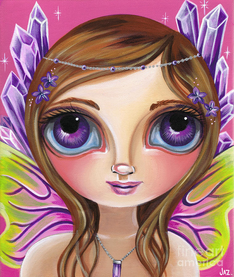 Amethyst Fairy by Jaz Higgins
