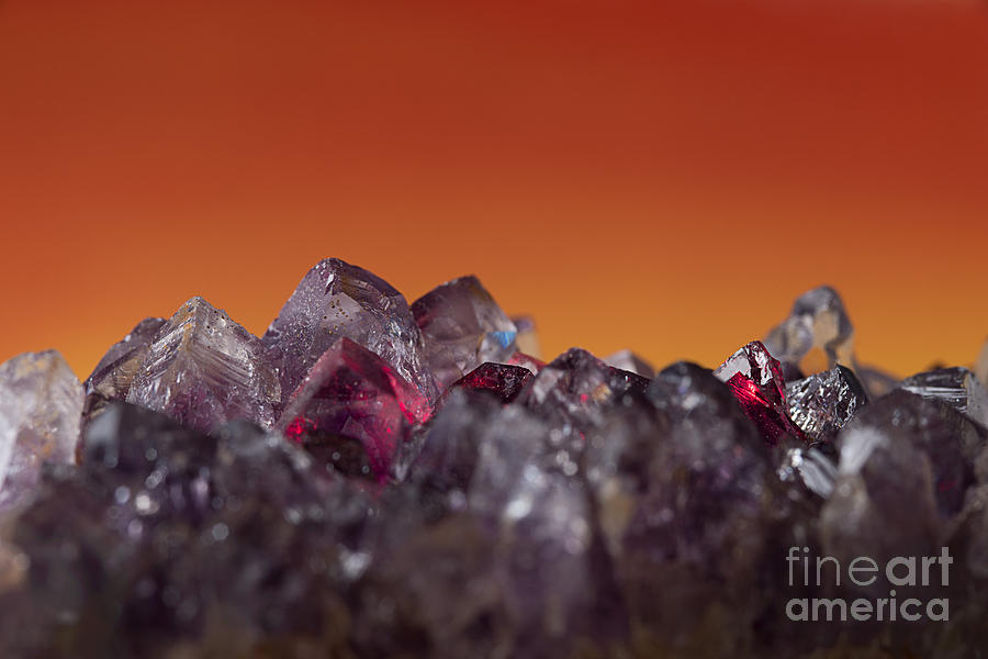 Amethyst Photograph - Amethyst Sunset by Art Whitton