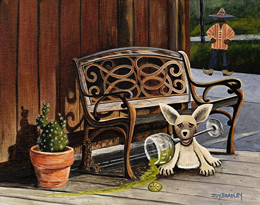 Amigo Painting - Amigo by Joy Bradley