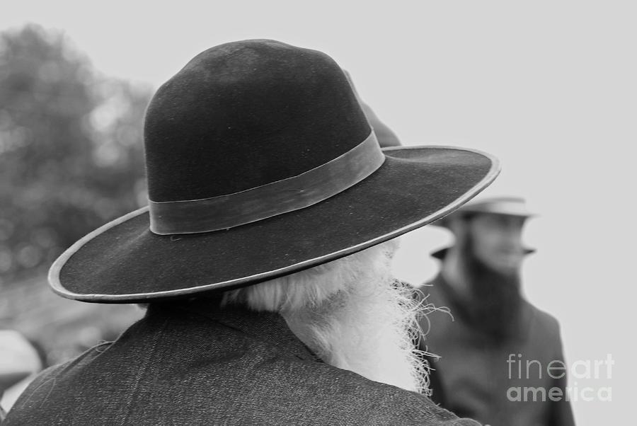 Amish Photograph - Amish Faces by Mary Carol Story