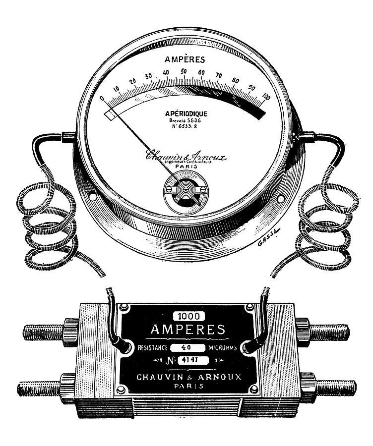 Ammeter And Shunt Photograph By Science Photo Library