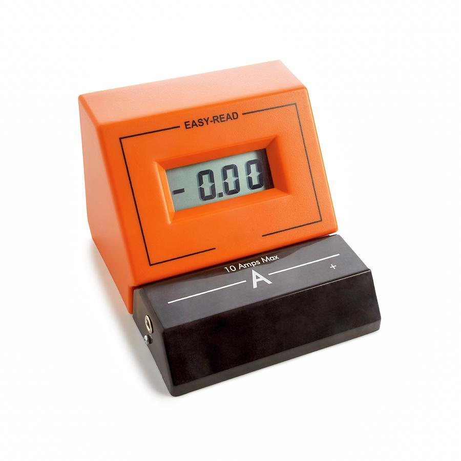 Ammeter For Science : Ammeter photograph by science photo library