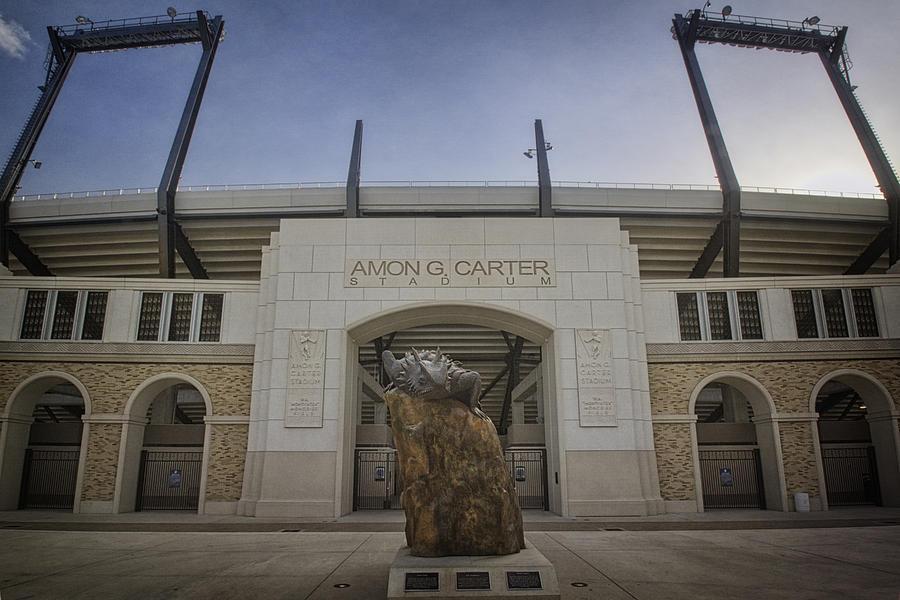 Amon G Carter Stadium At Tcu Photograph