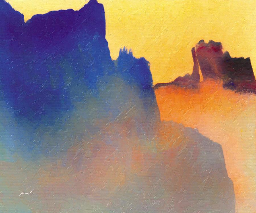 Fantasy Painting - Amorphous 60 by The Art of Marsha Charlebois