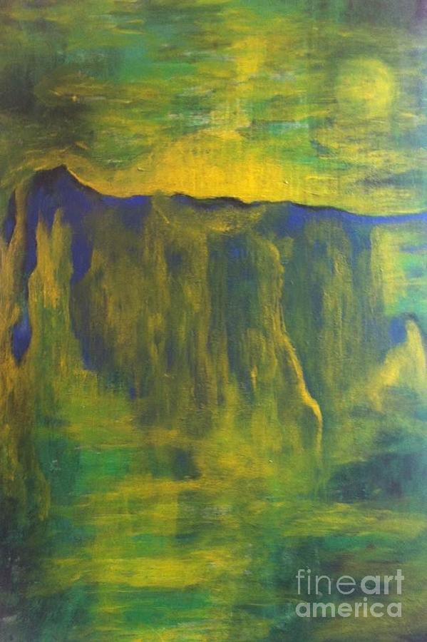 Rassouli Painting - Amour by Bebe Brookman
