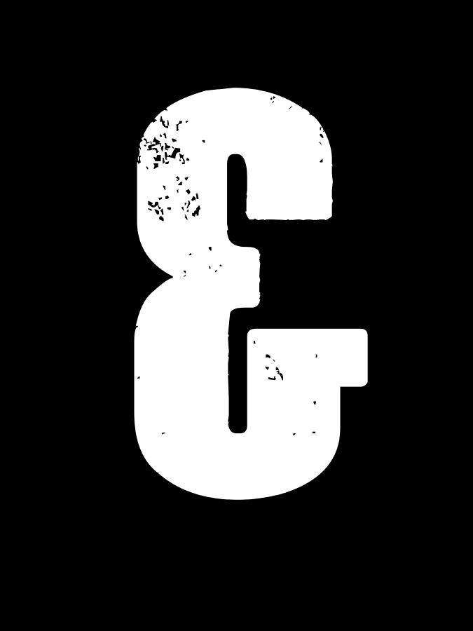Motivational Digital Art - Ampersand Poster  3 by Naxart Studio