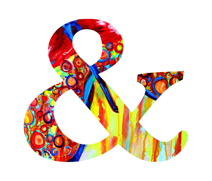 Ampersand Symbol Art No  5