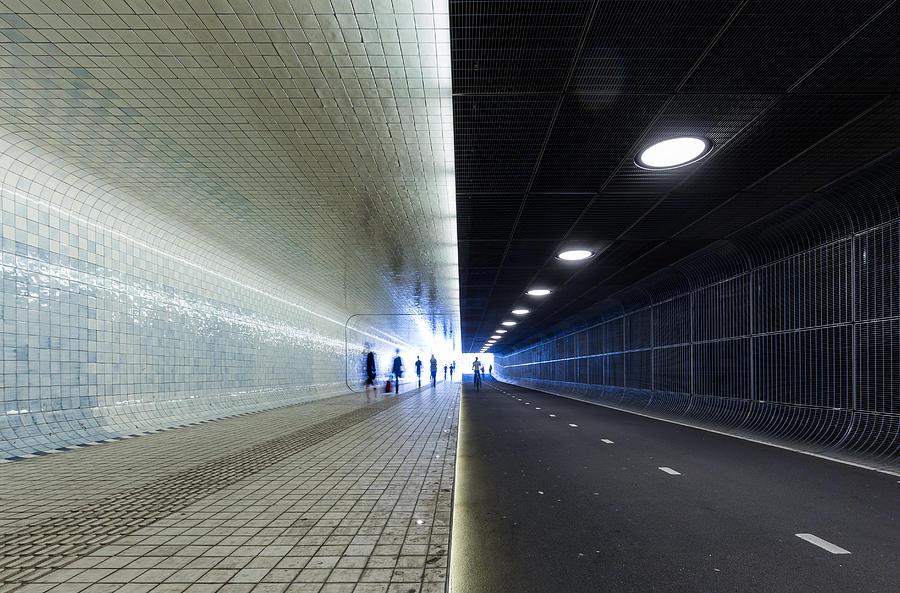Amsterdam Centraal - Underpass Photograph by Christian Beirle González