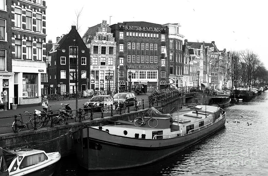 City Photograph - Amsterdam Day by John Rizzuto