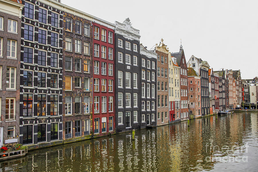 Amsterdam Houses Photograph