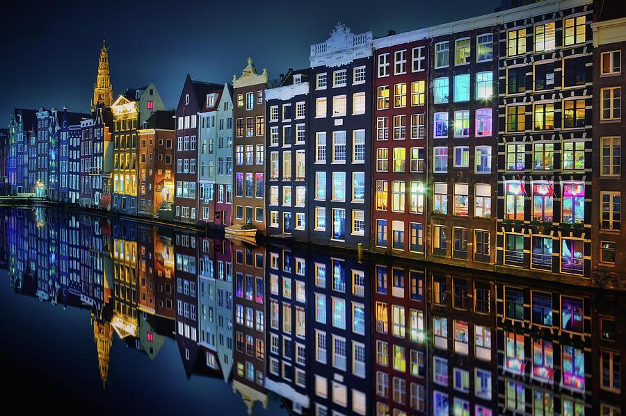 City Photograph - Amsterdam Mirror. by Juan Pablo De