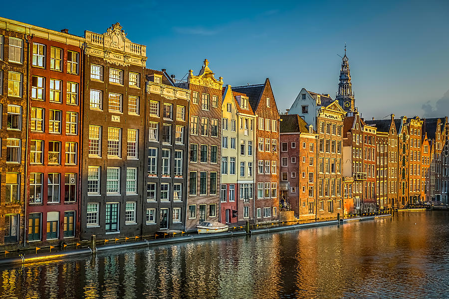 Landscape Photograph - Amsterdam by Neah Falco