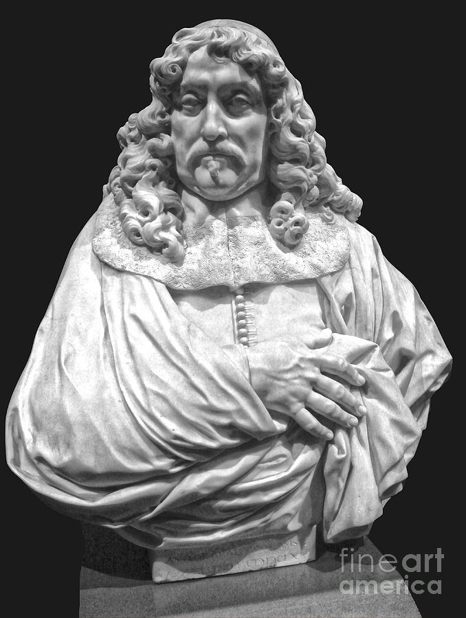 Classic Bust Photograph - Amsterdam Rijksmuseum Classic Bust - 09 by Gregory Dyer