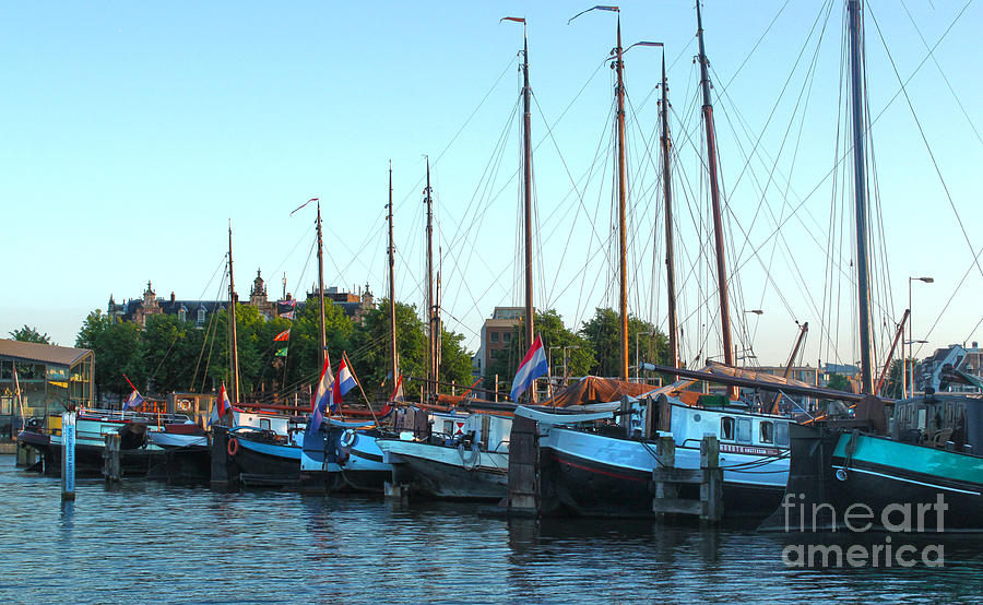 Amsterdam Photograph - Amsterdam Sailing Ship - 06 by Gregory Dyer