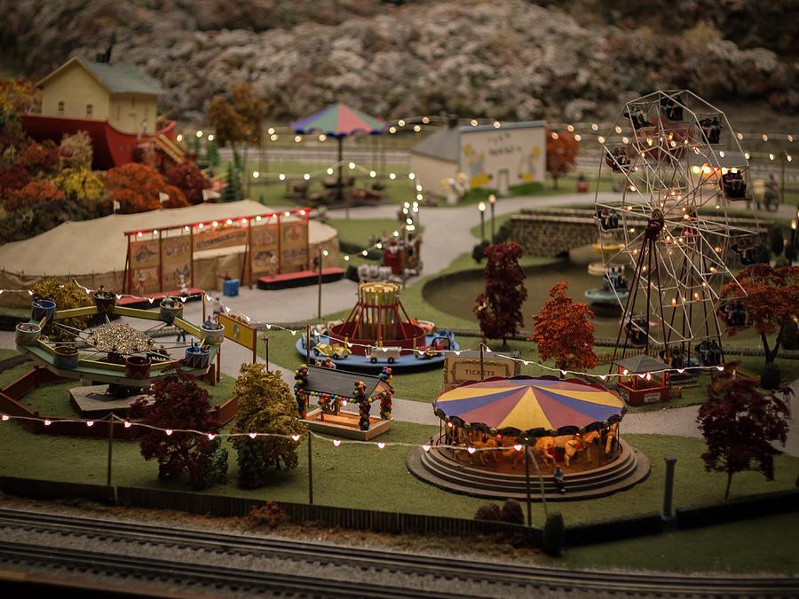 Amusement Park Photograph - Amusement Park by Carl Engman