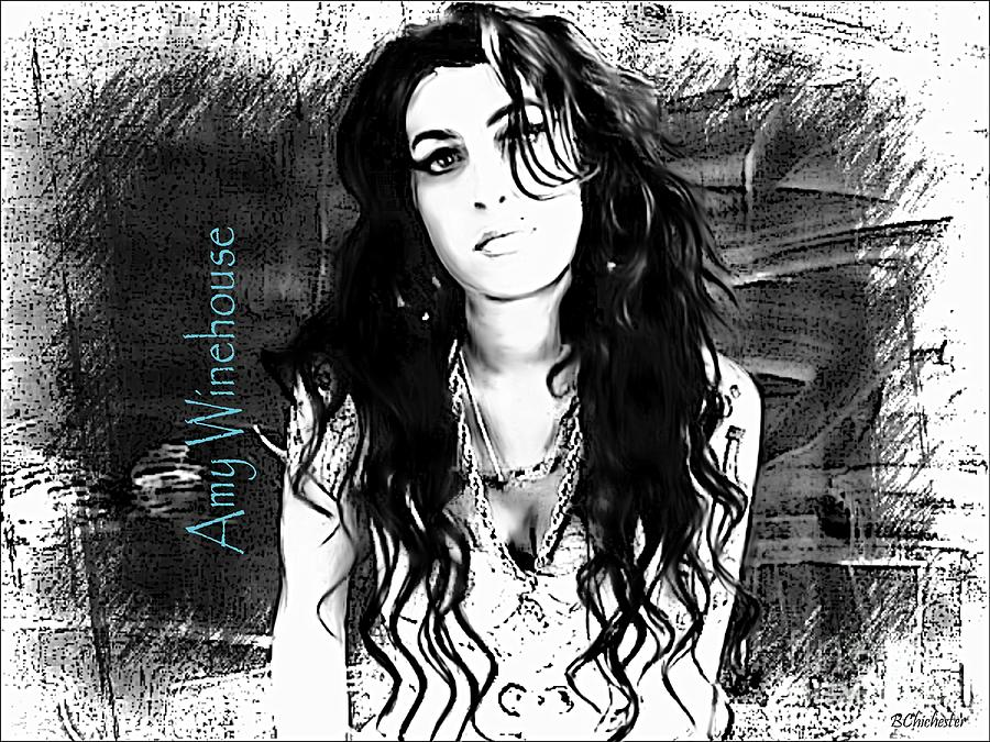 Amy Winehouse Photograph - Amy Winehouse by Barbara Chichester