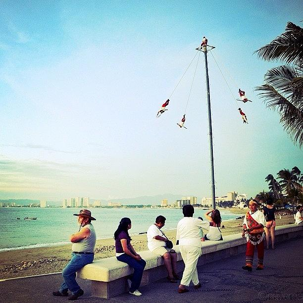 Mexican Photograph - An Afternoon On The Malecon by Natasha Marco