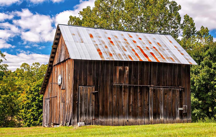 Barn Photograph - An American Barn 2 by Steve Harrington