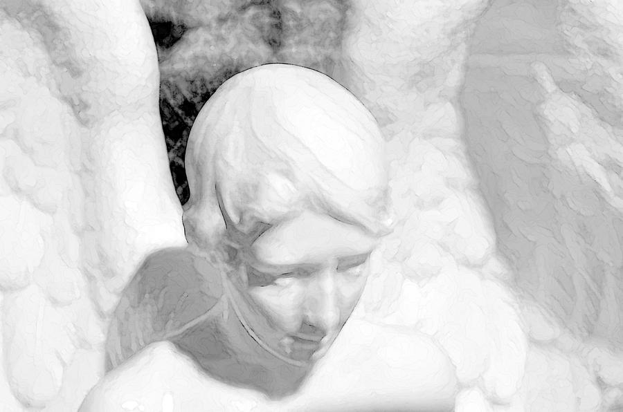 Angel Photograph - An Angel  by Tommytechno Sweden