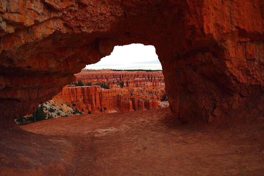 Bryce Canyon Photograph - An Arch Foreground The Pillars by Jeff Swan