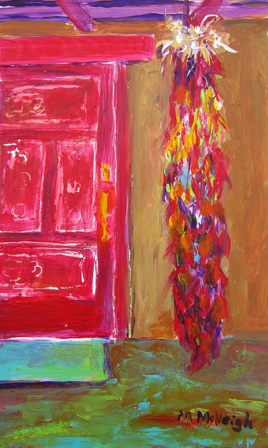Arizona Painting - An Arizona Welcome by Marita McVeigh