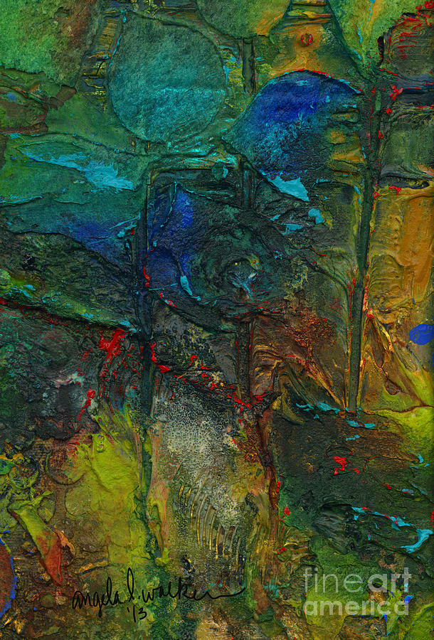 An Earthly Haven Mixed Media