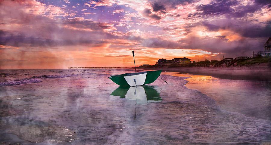Topsail Photograph - An Enchanting Evening by Betsy Knapp