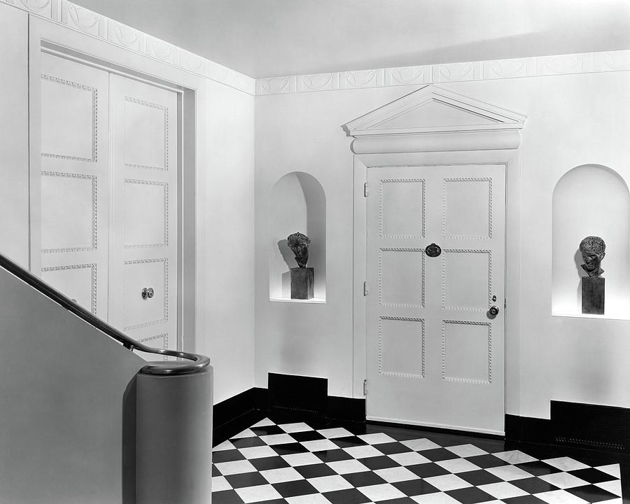 An Entrance Hall Photograph by Peter Nyholm