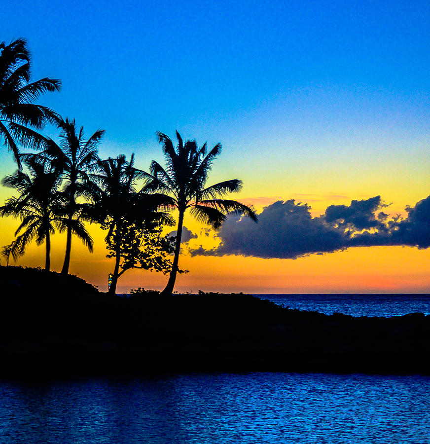 Oahu Photograph - An Evening At Ko Olina by Lisa Cortez